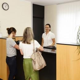 Medic-Poliklinika recepció